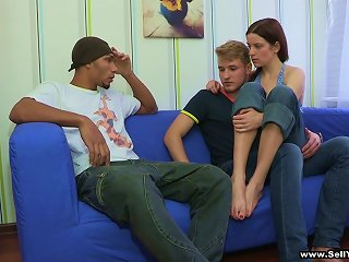 Magnificent Dasha Has Interracial Sex While Her Cuckold Watches
