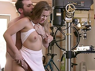Brenda James Goes Really Hardcore With Logan Pierce At The Office